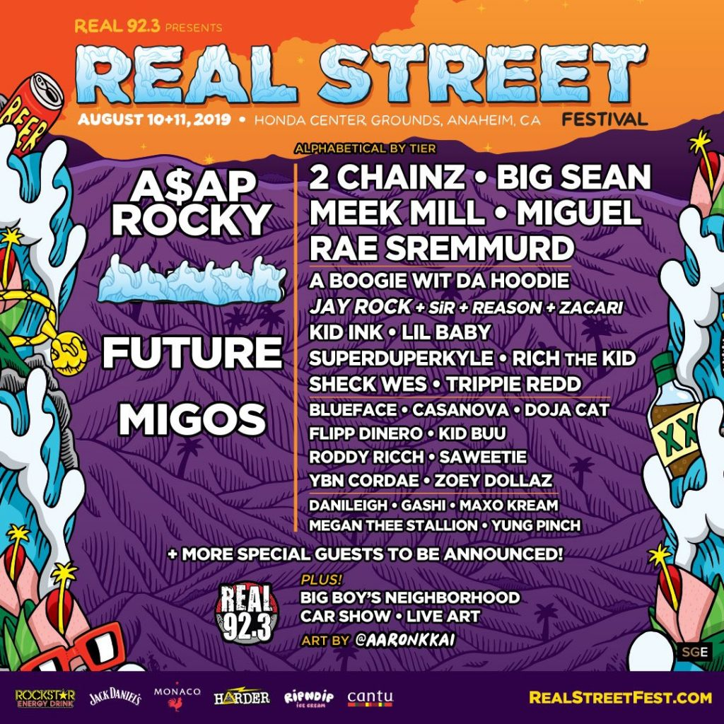 Cruz Announces real 92 3 Street Fest on KTLA!